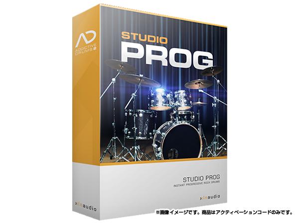 xlnaudio ( エクスエルエヌ オーディオ ) Addictive Drums 2:  Studio Prog  ◆【ADpak】【ダウンロードコード商品】