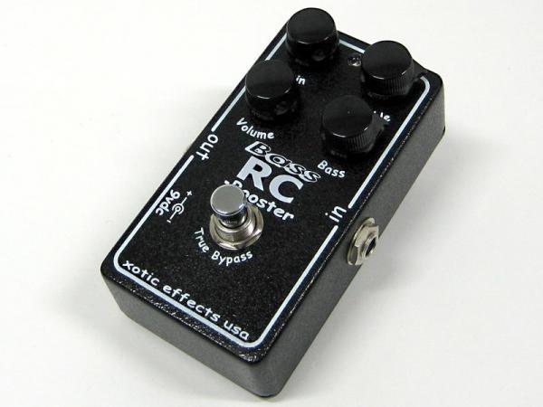 Xotic ( エキゾチック ) Bass RC Booster【エキゾチック ベース 高品質クリーンブースター 】