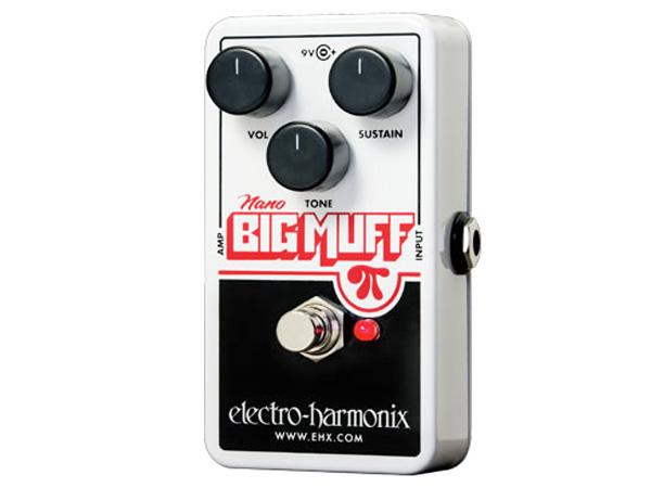 Electro Harmonix ( エレクトロハーモニクス ) Nano Big Muff【ナノ ビッグマフ ディストーション 】