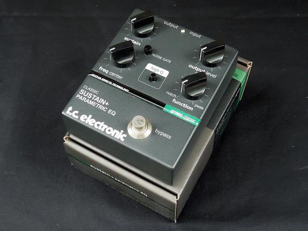 tc electronic ( ティー・シー・エレクトロニック ) Classic Sustain + Parametric EQ < USED / 中古品 >
