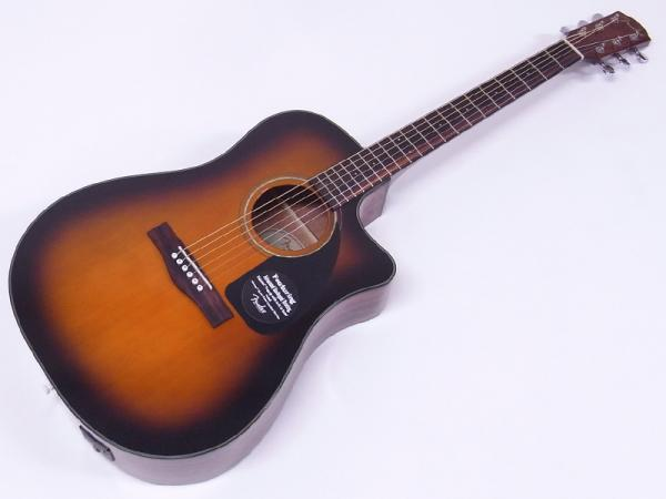 Fender Acoustic ( フェンダー アコースティック ) CD-60CE V2 / SB【新品 特価品 数量限定】