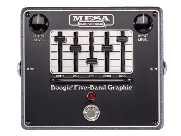 Mesa Boogie ( メサ・ブギー ) Five-Band Graphic 【グラフィックイコライザー】