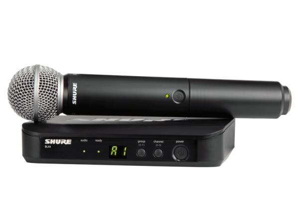 SHURE ( シュア ) BLX24/SM58 ◆ ハンドヘルド型 ワイヤレスシステム BLX24J/SM58-JB