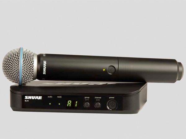 SHURE ( シュア ) BLX24/BETA58 ◆ ハンドヘルド型 ワイヤレスシステム