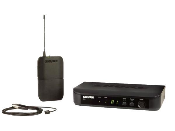 SHURE ( シュア ) BLX14/WL93 ◆ ラベリア ワイヤレスシステム BLX14J/W93-JB
