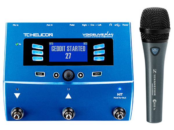 TC HELICON VoiceLive Play with e835 Fx