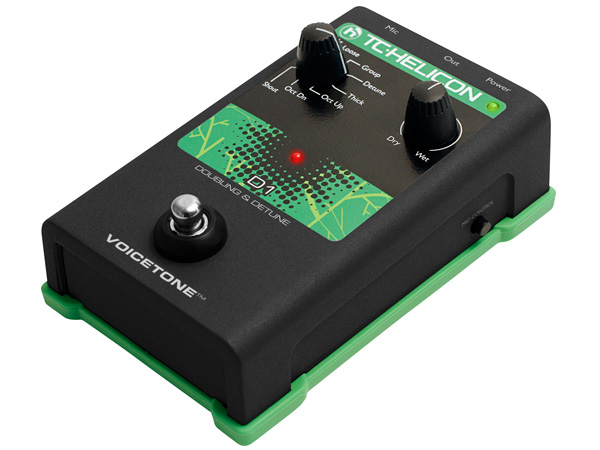 TC HELICON VoiceTone D1 ◆ ダブリング/ディチューン・エフェクト