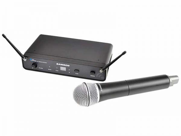 SAMSON ( サムソン ) Concert 88X ハンドヘルド・システム (w/ CL6) ◆ ハンドヘルドワイヤレスマイク システム for ボーカル スピーチ