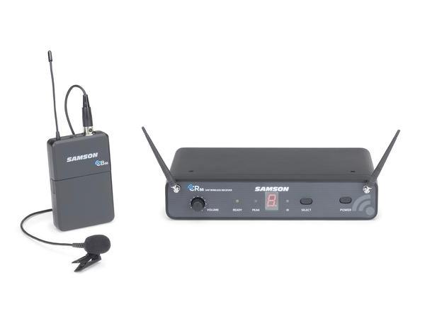 SAMSON ( サムソン ) ESWC88BLM5J-B ◆ ラベリア型(タイピン)ワイヤレスマイク システム for スピーチ プレゼンテーション