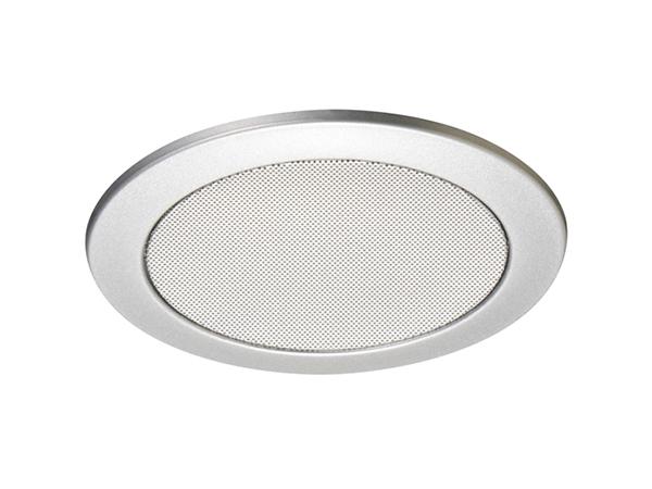 TOA ( ティーオーエー ) CP-189A ◆ アルミ枠 アルミネット シルバーメタリック塗装 天井埋込型スピーカー用パネル 丸型