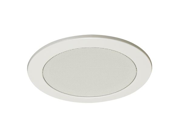 TOA ( ティーオーエー ) CP-189W ◆ アルミ枠 アルミネット オフホワイト塗装 天井埋込型スピーカー用パネル 丸型