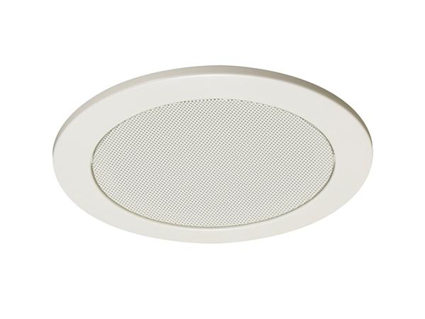 TOA ( ティーオーエー ) CP-183W ◆ アルミ枠 アルミネット オフホワイト塗装 天井埋込型スピーカー用パネル 丸型