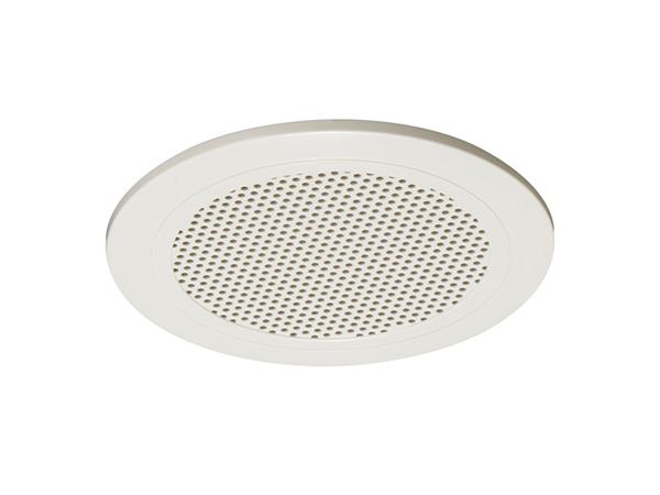 TOA ( ティーオーエー ) CP-184A ◆ 樹脂枠 樹脂ネット オフホワイト塗装 ABS樹脂一体型 天井埋込型スピーカー用パネル 丸型