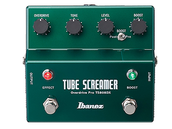 Ibanez ( アイバニーズ ) TS808DX ◆ Turbo Tubescreamer w/Booster