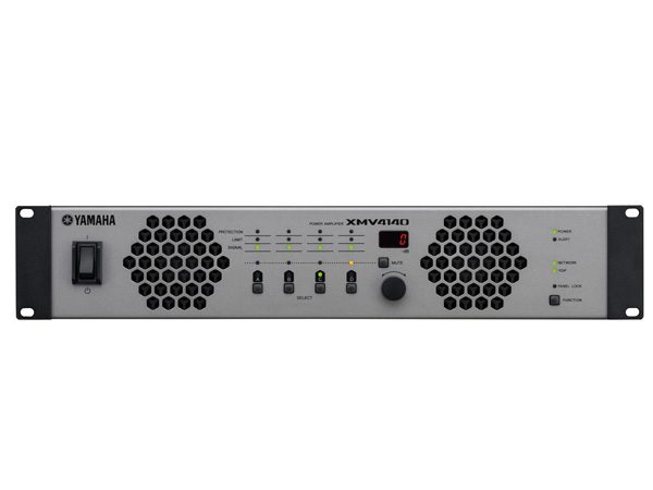 YAMAHA ( ヤマハ ) XMV4140 ◆ パワーアンプ ( ハイ・ロー兼用 ) ・4チャンネルモデル