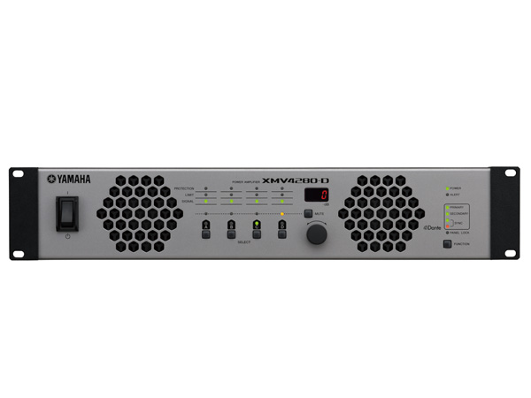 YAMAHA ( ヤマハ ) XMV4280-D ◆ パワーアンプ ( ハイ・ロー兼用 ) ・4チャンネルモデル