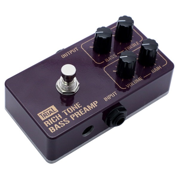 TRIAL ( トライアル ) RICH TONE BASS PREAMP