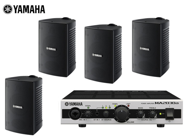 YAMAHA ( ヤマハ ) VS4 (2ペア) 屋内・野外BGMセット(MA2030)