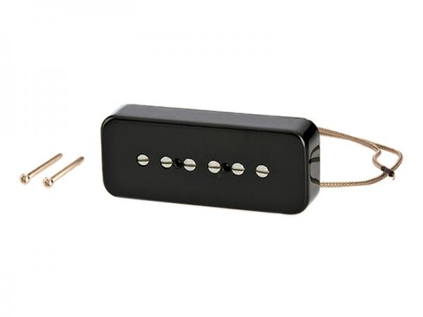 Gibson ( ギブソン ) P-90 Single Coil Pickup with Black Soapbar Cover /  IMP9R ブラックカバー