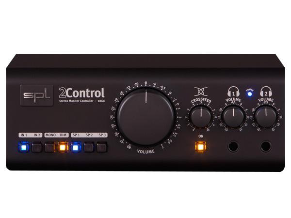 SPL Model 2861 2Control ◆ スピーカー・ヘッドフォンモニターコントローラ