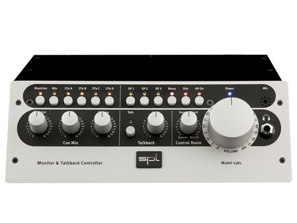 SPL Model 2381 MTC ◆ ステレオモニター&トークバックコントローラー