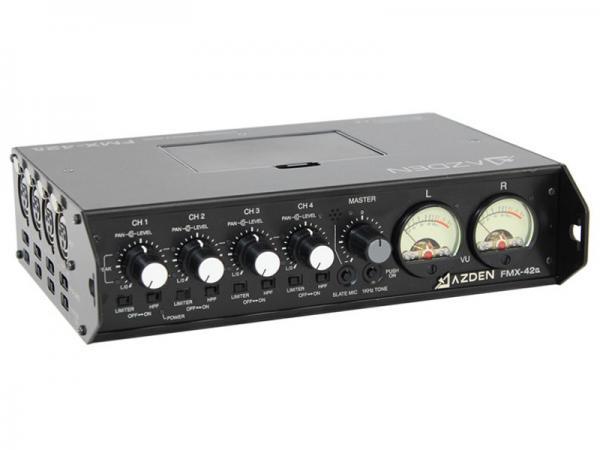 AZDEN ( アツデン ) FMX-42 ◆ 4チャンネル ポータブルミキサー