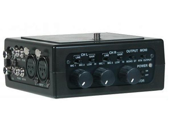AZDEN ( アツデン ) FMX-DSLR ◆ DSLR用2チャンネルポータブルミキサー