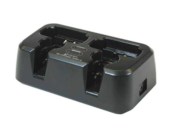 AZDEN ( アツデン ) AMC-3 ◆ マイク/送信機用 充電器(2台同時充電)