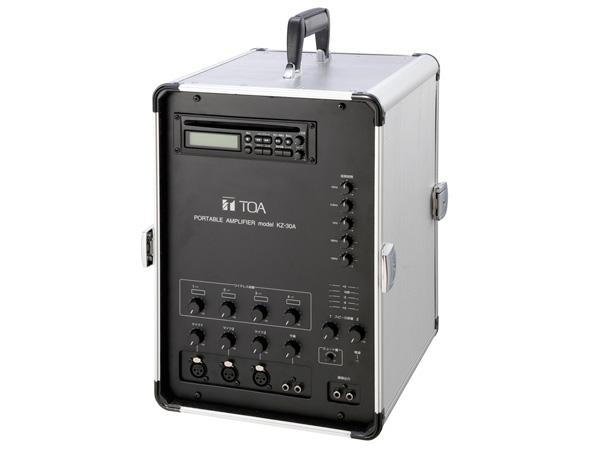 TOA ( ティーオーエー ) KZ-30A ◆ 移動用PAアンプ 30W x2ch CDプレーヤー搭載