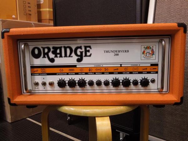 Orange ( オレンジ ) Thunderverb 200 Head < USED >