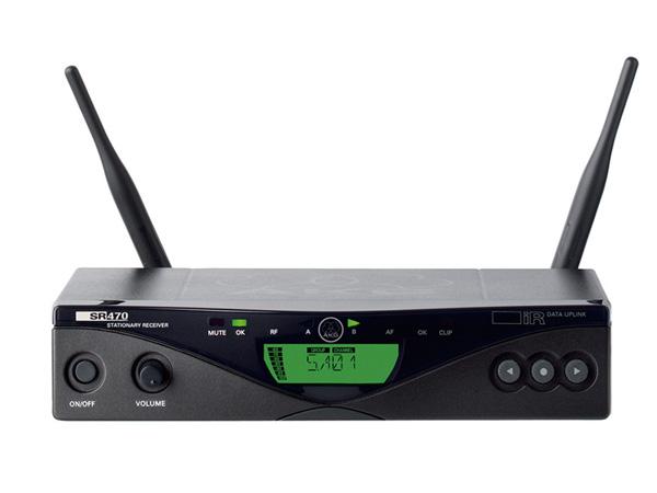 AKG ( エーケージー ) SR470 ◆ ワイヤレス受信機 WMS470シリーズ