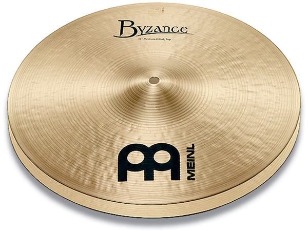Meinl ( マイネル ) B13MH(PAIR) ☆ Byzance Traditional ミディアムハイハット