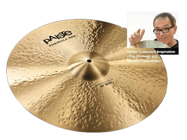 "Paiste ( パイステ ) FORMULA 602 MODREN ESSENTIALS RIDE 22"" ☆ ライド"