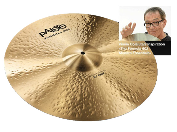 "Paiste ( パイステ ) FORMULA 602 MODREN ESSENTIALS RIDE 20"" ☆ ライド"