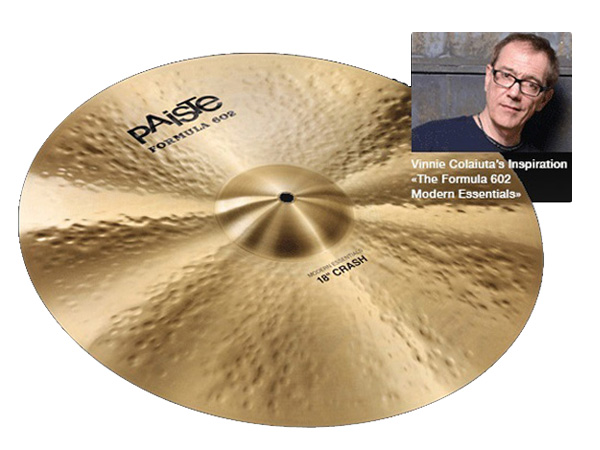 "Paiste ( パイステ ) FORMULA 602 MODREN ESSENTIALS CRASH 20"" ☆ クラッシュ"