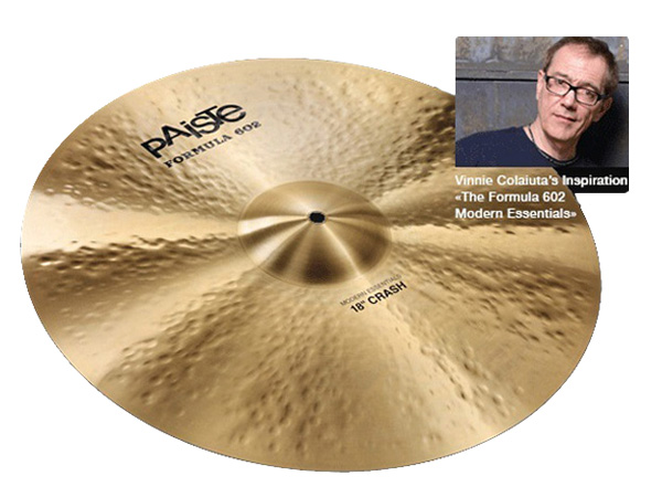 "Paiste ( パイステ ) FORMULA 602 MODREN ESSENTIALS CRASH 16"" ☆ クラッシュ"
