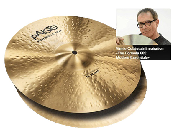 "Paiste ( パイステ ) FORMULA 602 MODREN ESSENTIALS HI-HAT 14""(PAIR) ☆ ハイハット"