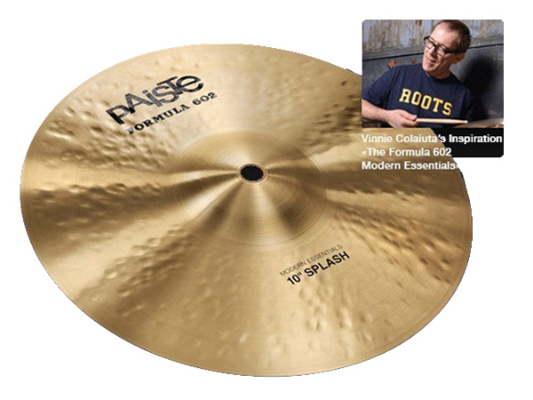"Paiste ( パイステ ) FORMULA 602 MODREN ESSENTIALS SPLASH 10"" ☆ スプラッシュ"