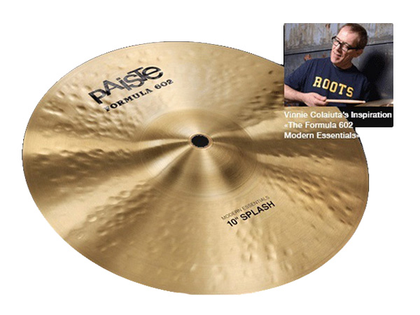 "Paiste ( パイステ ) FORMULA 602 MODREN ESSENTIALS SPLASH 8"" ☆ スプラッシュ"