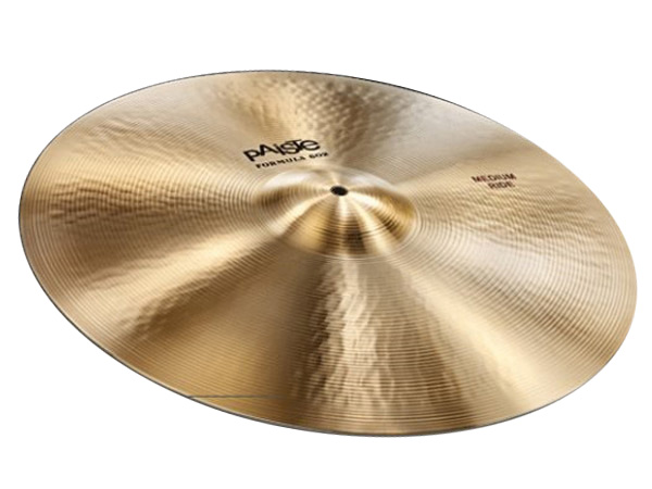 "Paiste ( パイステ ) FORMULA 602 CLASSIC SOUNDS MEDIUM RIDE 20"" ☆ ライド"
