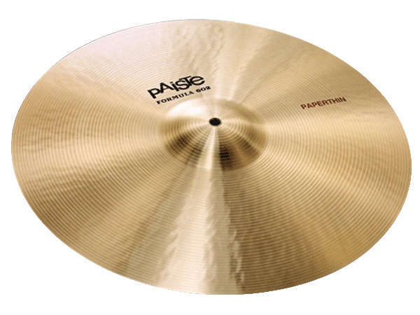 "Paiste ( パイステ ) FORMULA 602 CLASSIC SOUNDS PAPERTHIN CRASH 18"" ☆ クラッシュ"