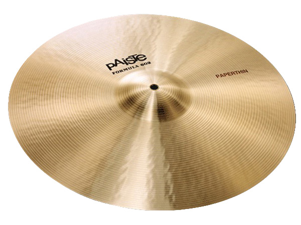 "Paiste ( パイステ ) FORMULA 602 CLASSIC SOUNDS PAPERTHIN CRASH 16"" ☆ クラッシュ"