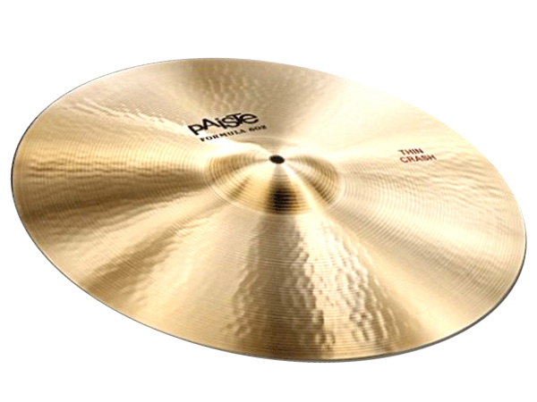 "Paiste ( パイステ ) FORMULA 602 CLASSIC SOUNDS THIN CRASH 22"" ☆ クラッシュ"
