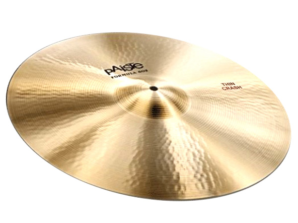 "Paiste ( パイステ ) FORMULA 602 CLASSIC SOUNDS THIN CRASH 20"" ☆ クラッシュ"