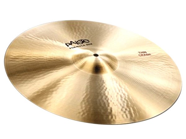 "Paiste ( パイステ ) FORMULA 602 CLASSIC SOUNDS THIN CRASH 18"" ☆ クラッシュ"