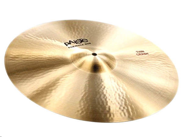 "Paiste ( パイステ ) FORMULA 602 CLASSIC SOUNDS THIN CRASH 16"" ☆ クラッシュ"