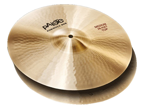 "Paiste ( パイステ ) FORMULA 602 CLASSIC SOUNDS MEDIUM HI-HAT 15""(PAIR) ☆ ハイハット"