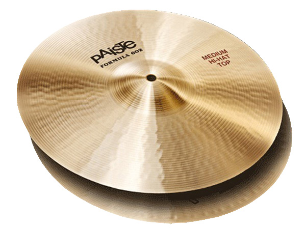 "Paiste ( パイステ ) FORMULA 602 CLASSIC SOUNDS MEDIUM HI-HAT 14""(PAIR) ☆ ハイハット"