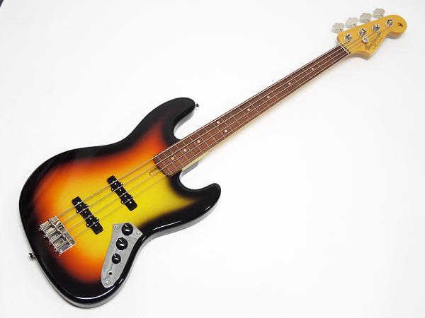 Vanzandt JBV-R2 Fretles / '63 3-Tone Sunburst