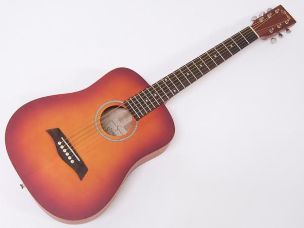 S.Yairi ( エスヤイリ ) YM-02(CS)【コンパクト アコースティックギター ミニアコギ 】